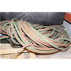 LARGE ASSORTMENT OF WELDING HOSES