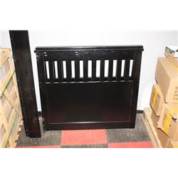 SHOWHOME BLACK SINGLE BEDFRAME
