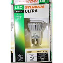 SYLVANIA 7W=35W LED FLOOD LIGHT