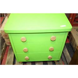 SHOWHOME KERMIT THE FROG GREEN SHOWHOME NIGHTSTAND