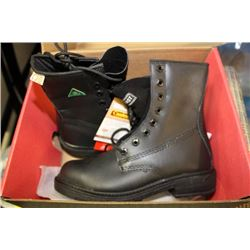 DYNAMIC STEEL TOE SAFETY BOOTS SIZE 8