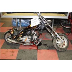 49CC 5 SPEED MINI CHOPPER WITH MANUAL AND