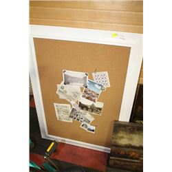 SHOWHOME CORKBOARD SOLD WITH CANVAS PICTURE