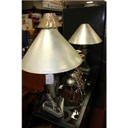 PAIR OF DESIGNER LAMPS