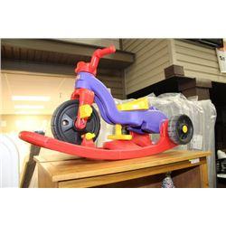 Fisher Price Convertible Rocker/ Trike