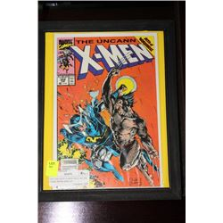 THE UNCANNY X-MEN ISSUE NO.258 COMIC BOOK DISPLAY