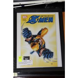 ASTONISHING X-MEN ISSUE NO. 6 COMIC BOOK DISPLAY