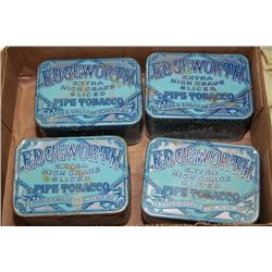 EDGEWORTH PIPE TOBACCO TINS