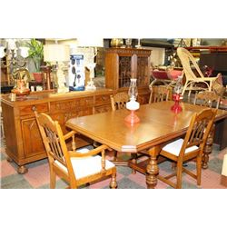 1930'S - 40'S DINING ROOM SUITE