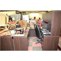 OFFICE DESK W/ CHAIR