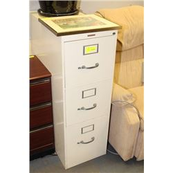 3 DRAWER FILING CABINET SOLD WITH CITY PICTURE