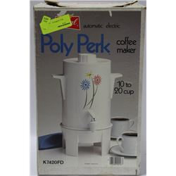 POLY PERK COFFEE MAKER