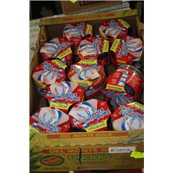 BOX OF TWIST AND CLOSE CONTAINERS