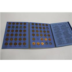 1941-1961 LINCOLN HEAD 1 CENT COLLECTION W/ BOOK