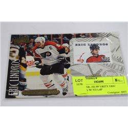 1998 DONRUSS PRIORITY ERIC LINDROS W/ STAMP