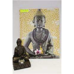 PARTYLITE SHIVA CANDLE HOLDER SOLD WITH SHIVA