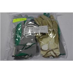 PACK OF NEW GARDENING GLOVES AS THEY COME