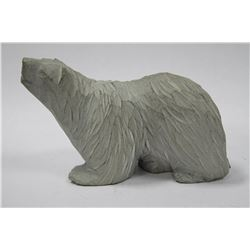 SIGNED POLARBEAR CARVING