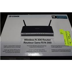 D-LINK WIRELESS ROUTER ( IN BOX )