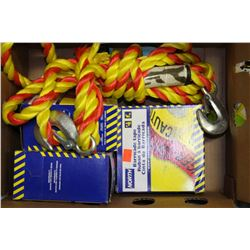 BOX OF ASSORTED SAFETY EQUIPMENT