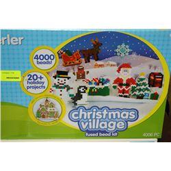 2 CHRISTMAS VILLAGE HOT BEAD SETS