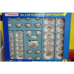 CHILDRENS 40 PC TEA SET