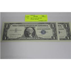 GEM UNCIRC US 1957 SILVER CERTIFICATE $1 NOTES