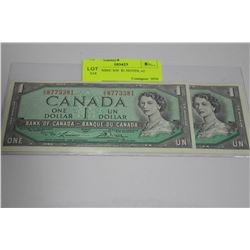1954 CONSEC S/N  $1 NOTES, x2