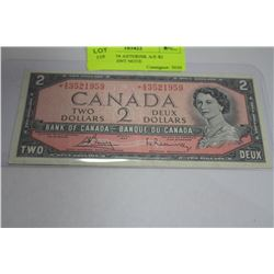 SCARCE 1954 ASTERISK A/E $2 REPLACEMENT NOTE