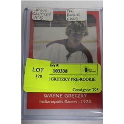 1978 WAYNE GRETZKY PRE-ROOKIE CARD