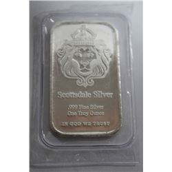 1oz. PURE SILVER BAR