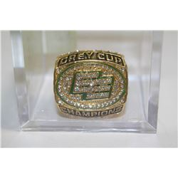 EDMONTON ESKIMOS GREY CUP RING