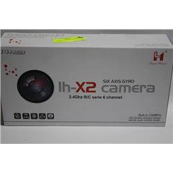 IH-X2 QUADCOPTER SIX AXIS GYRO CAMERA