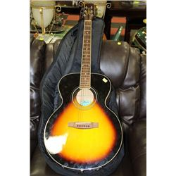 SEGOVIA ACOUSTIC GUITAR W AUTO TUNER AND ELECTRIC