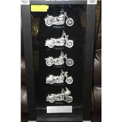 1990 HARLEY DAVIDSON MOTORCYCLES SHADOW BOX