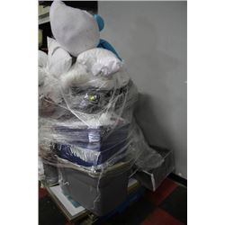 PALLET OF SHOWHOME BEDDING PICTURES ETC