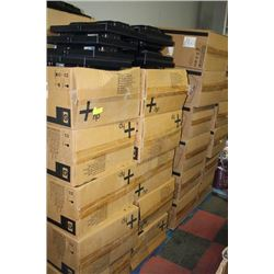 PALLET OF HP PAPER FEEDERS & COMPUTER MONITORS X2