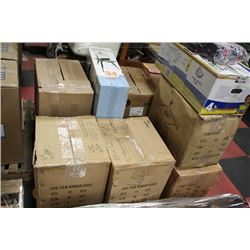 PALLET OF STEAMERS