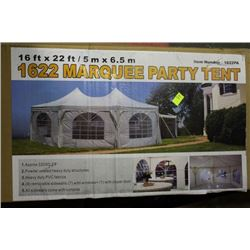 NEW 16 X 22 MARQUIS PARTY TENT