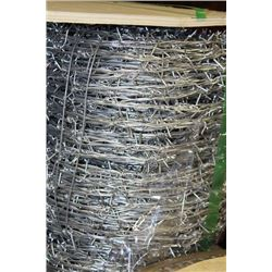 ROLL OF BARBWIRE FENCE