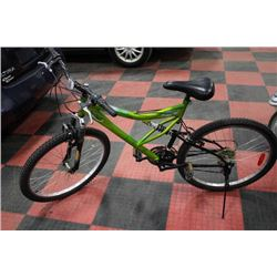 SUPERCYCLE 18 SPEED FULL SUSPENSION MOUNTAIN BIKE