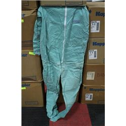 CASE OF SIZE XL DISPOSABLE COVER-ALLS