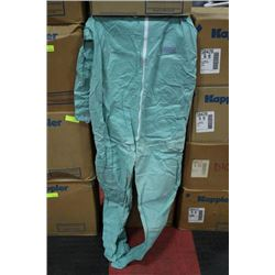 CASE OF KAPPLER SIZEZ L DISPOSABLE COVER-ALLS