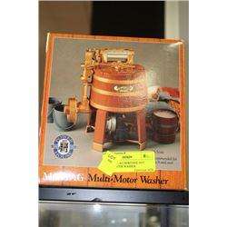 MAYTAG MULTI MOTOR WASHER 1/6TH SCALE MODEL