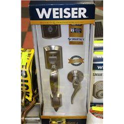 WEISER 006 SMARTKEY FRONT ENTRANCE LOCK SET