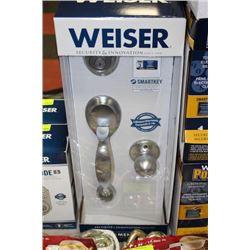 NEW WEISER 002 SMARTKEY FRONT ENTRANCE LOCK SET