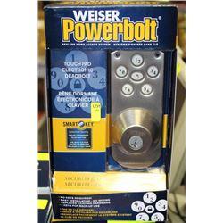 WEISER SMARTKEY TOUCHPAD ELECTRONIC DEADBOLT