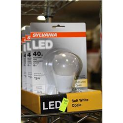 SYLVANIA 6WATT=40WATT LED LIGHT BULB
