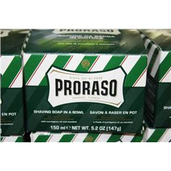 PRORASO SHAVING SOAP IN A BOWL