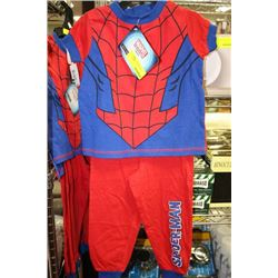 SPIDERMAN PJ'S ON CHOICE: SIZE 2
